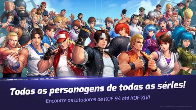 The King of Fighters ALLSTAR Cartaz