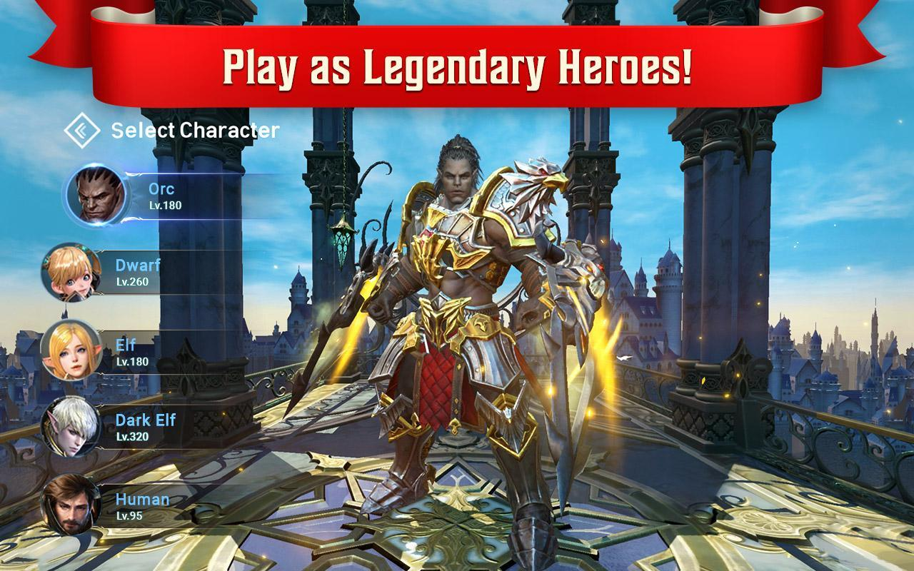Lineage 2: Revolution for Android - APK Download