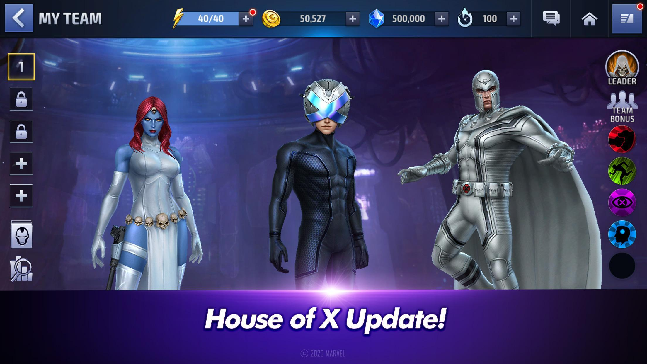 MARVEL Future Fight poster