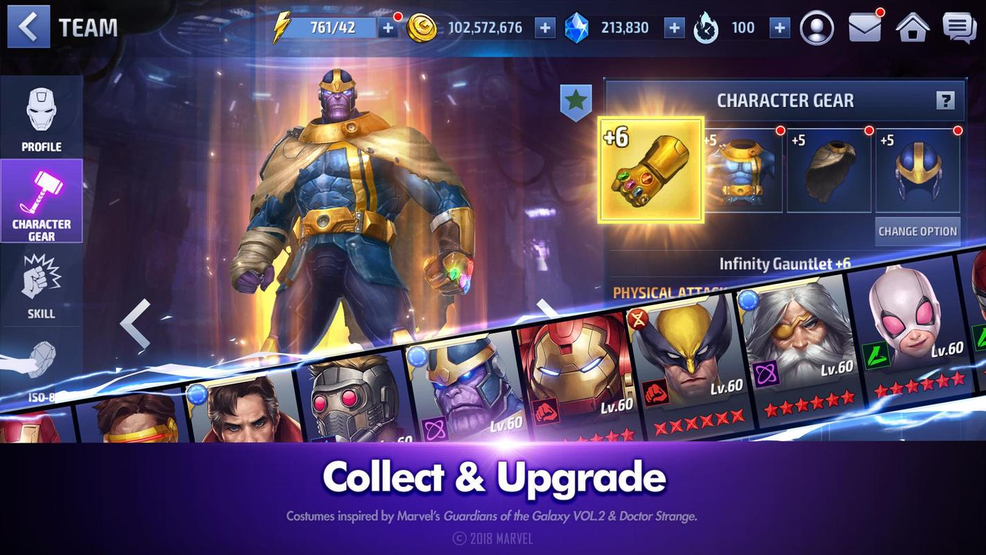 Marvel Future Fight Apk 4 7 1 Free Role Playing Game Apk Download