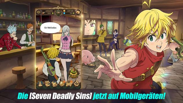 The Seven Deadly Sins: Grand Cross Plakat