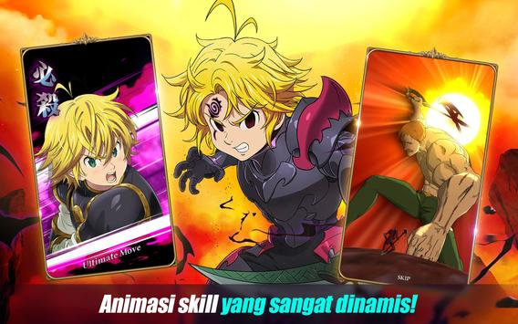The Seven Deadly Sins: Grand Cross syot layar 15