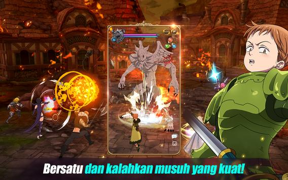 The Seven Deadly Sins: Grand Cross syot layar 11