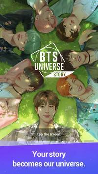 BTS Universe Story الملصق