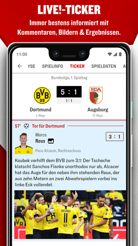 Kicker Fussball News Apk 5 7 0 Latest Version For Android