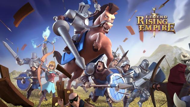 Legend: Rising Empire poster