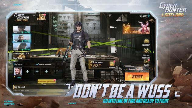 Cyber Hunter captura de pantalla 16