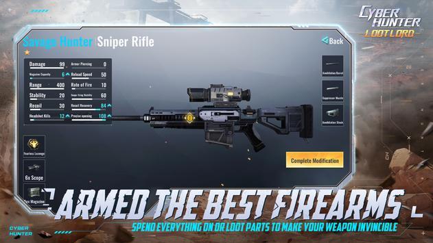 Cyber Hunter captura de pantalla 18