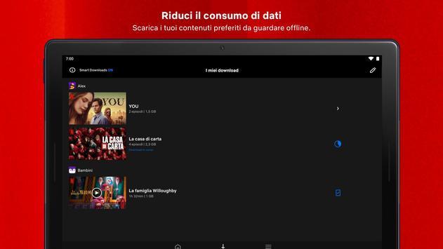10 Schermata Netflix