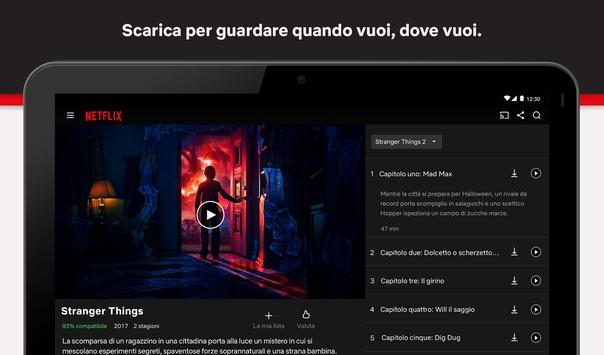 5 Schermata Netflix