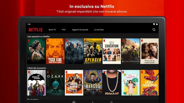 9 Schermata Netflix