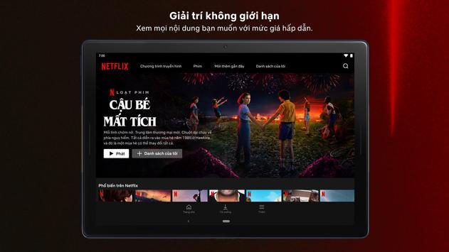 Netflix ảnh chụp màn hình 16