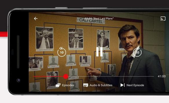 3 Schermata Netflix
