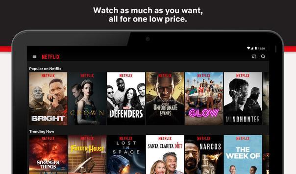 4 Schermata Netflix