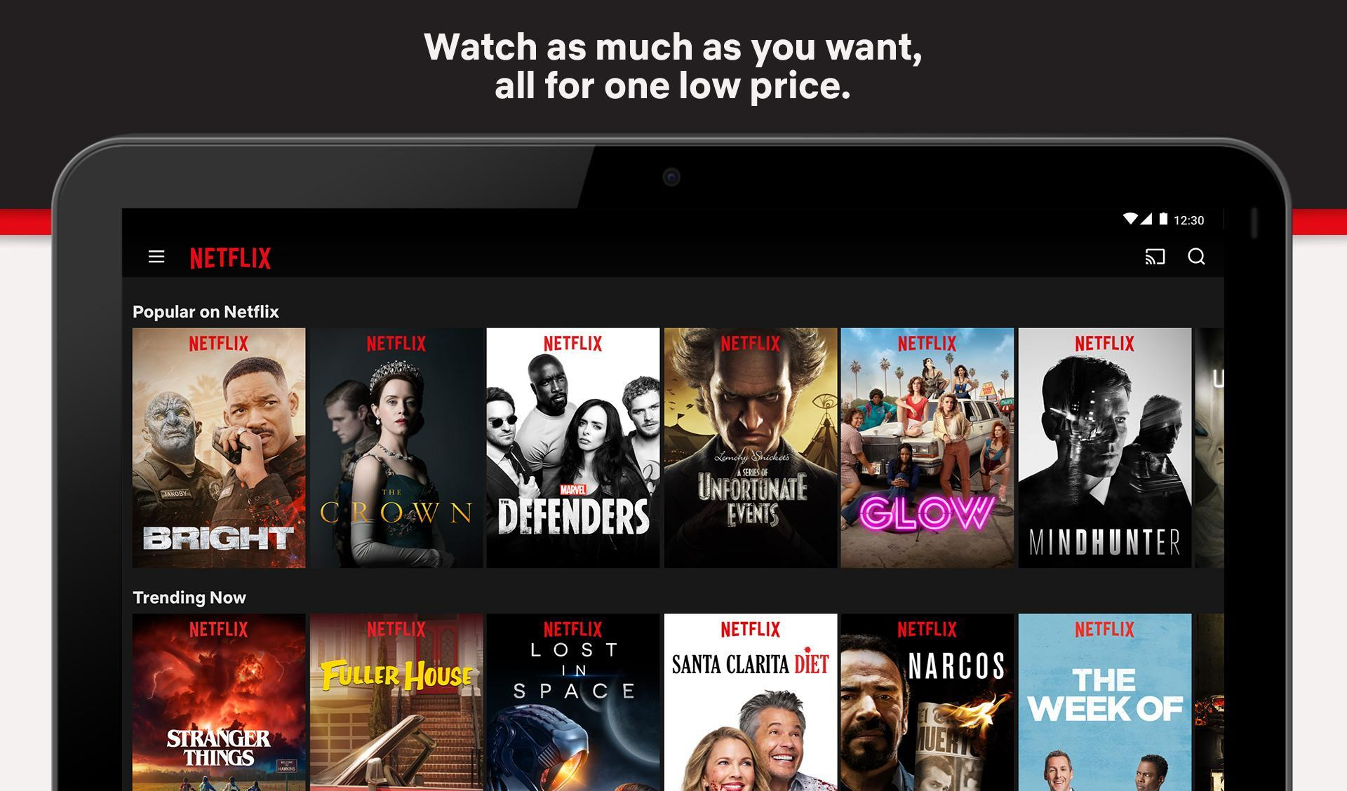 download netflix tv box apk