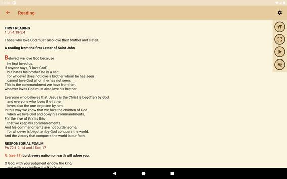 iBreviary screenshot 10