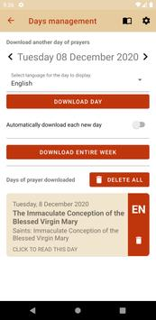iBreviary screenshot 1