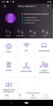 NETGEAR Insight captura de pantalla 4