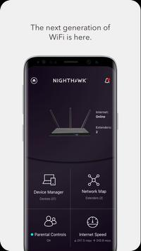 NETGEAR Nighthawk – WiFi Router App Cartaz