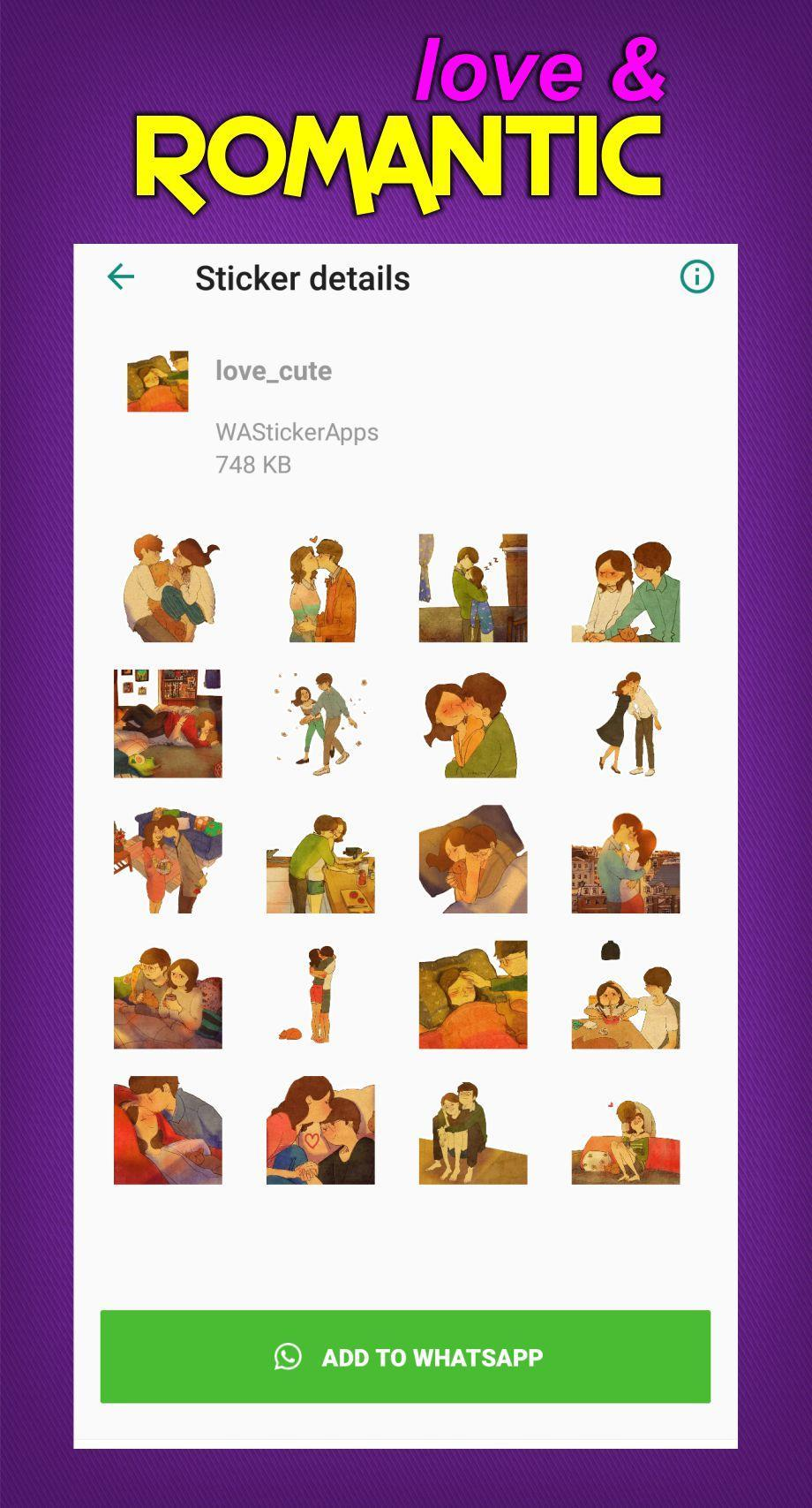 Romantis Love Sticker For Wa For Android Apk Download