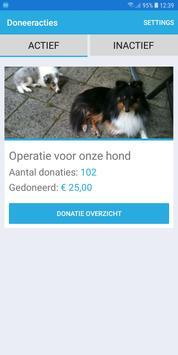 Doneeractie screenshot 1