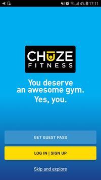 Chuze Fitness poster