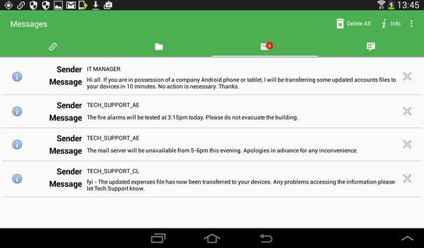 NetSupport Manager Client screenshot 10