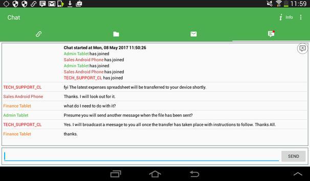 NetSupport Manager Client screenshot 9