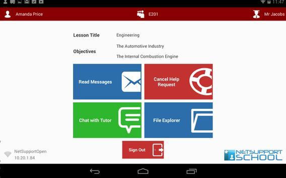 NetSupport School Student screenshot 8