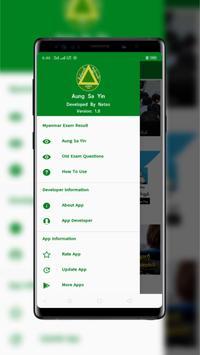 Myanmar Exam Result - Aung Sa Yin (အောင်စာရင်း) screenshot 1