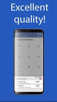 International calls screenshot 4