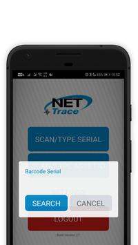 NetTrace NAMScan screenshot 2