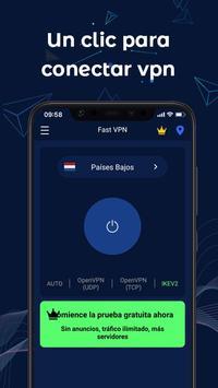 FastVPN: ¡VPN súper rápida y segura para Android! Poster