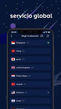 FastVPN: ¡VPN súper rápida y segura para Android! captura de pantalla 1