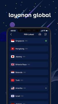 FastVPN - VPN Superfast Dan Aman Untuk Android! syot layar 1