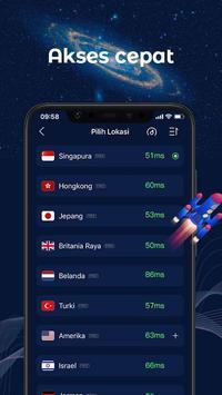 FastVPN - VPN Superfast Dan Aman Untuk Android! syot layar 2