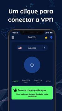 FastVPN - VPN super rápida e segura para Android! Cartaz