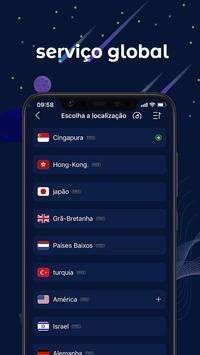 FastVPN - VPN super rápida e segura para Android! imagem de tela 1