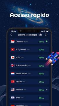 FastVPN - VPN super rápida e segura para Android! imagem de tela 2