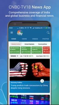 CNBC TV18 Poster