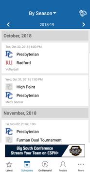 Presbyterian Athletics: Free screenshot 4
