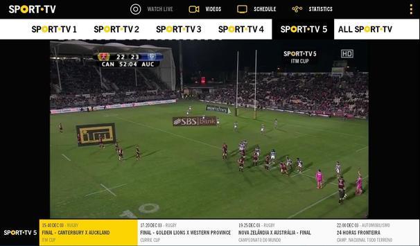 SPORT TV screenshot 6