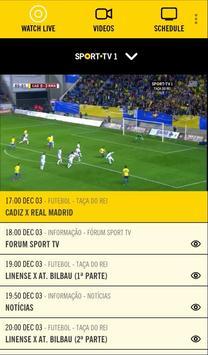 SPORT TV screenshot 1