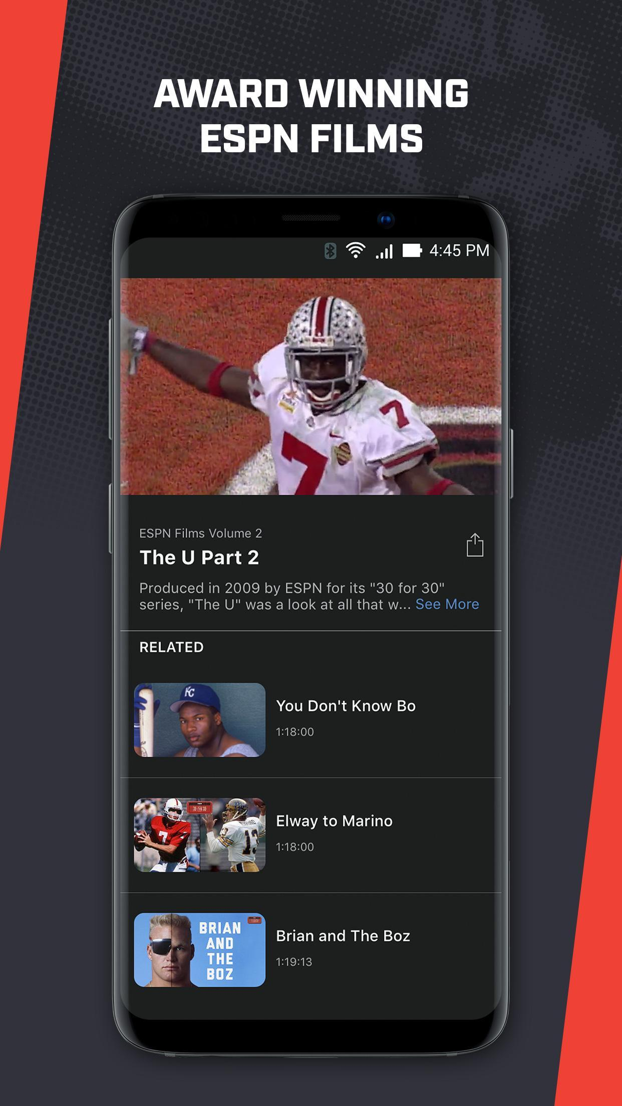 ESPN Player for Android - APK Download