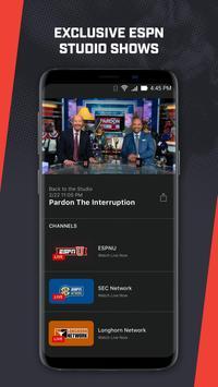 ESPN Player screenshot 4