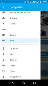 Mykonos 24 App Guide screenshot 3