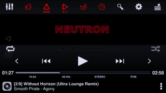 Neutron Music Player screenshot 16
