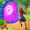 Charms of the Witch : Jeux Match 3 magiques icône