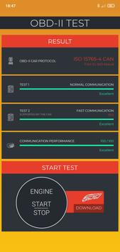 OBD2 Test for Potenza Drive (OBD2 ELM327) screenshot 4