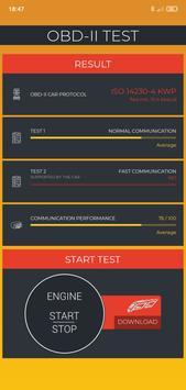 OBD2 Test for Potenza Drive (OBD2 ELM327) screenshot 3